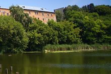 Река Гнилопять в Бердичеве