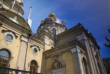 Купол бердичівського храму святого Миколая