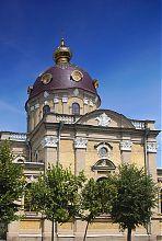 Закінчення осі трансепта православного Миколаївського собору в Бердичеві