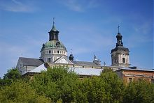 Юго-восточный фасад монастыря босых кармелитов Бердичева
