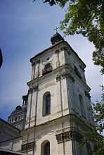 Южная башня-колокольня бердичевского кармелитского монастыря