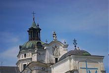 Завершение Мариинского костела монастыря кармелитов босых в Бердичеве