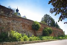 Крепостная стена кармелитского монастыря в Бердичеве