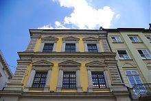 Верхні яруси кам'яниці Бандінеллі на львівській Ринковій площі