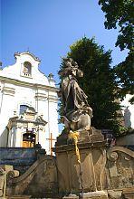 Статуя Пресвятой Девы Марии львовского костела св. Антония