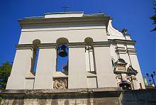 Колокольня костела святого Антония Падуанского францисканского монастыря