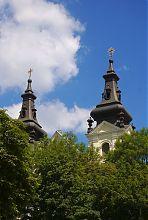 Вежі церкви Архистратига Михаїла УГКЦ у Львові