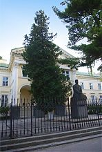 Памятник В.С. Стефанику перед львовским Оссолинеумом