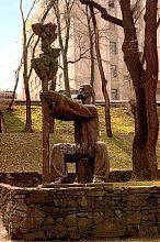 Памятник на могиле Лазаря Глобы в Днепропетровске