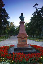 Пам'ятник О.С. Пушкіну на Старому бульварі Житомира