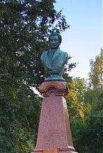 Житомирський пам'ятник поетові О.С. Пушкіну