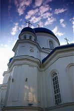 Угловая башня собора Архистратира Михаила в Житомире