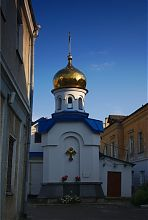 Водосвятітельская вежа житомирської церкви Архистратига Михаїла
