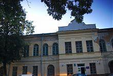 Ризаліт житомирського Будинку офіцерів