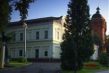Северо-восточный фасад житомирского филармонического здания (бывший театр)