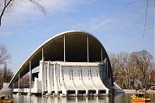 Летний театр в днепропетровском парке Лазаря Глобы