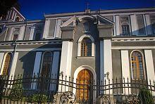 Портал трансепта костелу францисканців в Житомирі