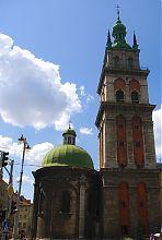 Вежа Корнякта Успенської церкви Львова