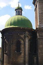 Напівкругла апсида львівської ставропігійного церкви