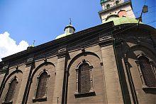 Південний фасад Грецької церкви