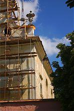 Юго-восточный угол львовского реформаторского костела