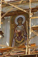 Мозаичное панно фронтона костела святого Казимира