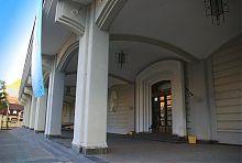 Галерея Дворца искусств возле львовской резиденции Потоцких