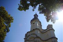 Завершение храма бывшего монастыря сакраменток во Львове