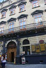 Палац Корнякта з Італійським подвір на Ринковій площі Львова