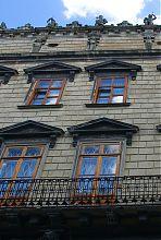 Аттиковый пояс дворца Корнякта на львовской Рыночной площади