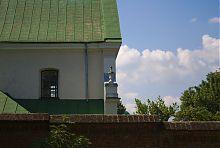 Северный фасад комплекса монастыря капуцинов во Львове