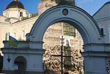 В'їзна арка Троїцького собору