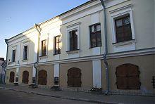 Західний фасад луцького будинку Косачів
