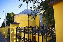 Апсида Покровской церкви Луцка