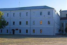 Северо-восточный фасад иезуитского коллегиума в Луцке