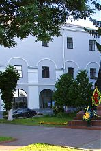 Аркада північно-західного фасаду луцького єзуїтського монастиря-колегіуму
