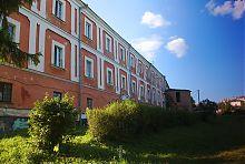 Восточный фасад Волынской духовной семинарии (Луцк)
