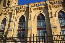 Северный фасад лютеранской кирхи в Луцке