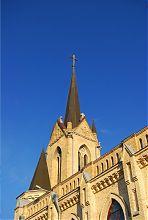 Шпиль колокольни луцкой баптистской церкви