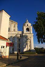 Западная башня-колокольня Петропавловского костела в Луцке