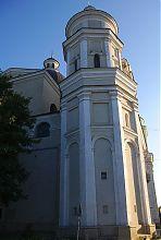 Северная башня луцкого иезуитского костела