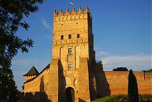 Въездная башня замка Любарта в Луцке