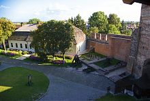 Фундамент палацу Любарта в Луцькому замку