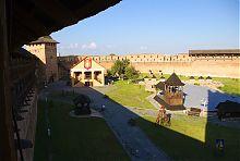 Внутрішній двір замку Любарта в Луцьку