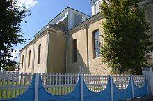 Південний неф бернардинського монастиря в Дубно