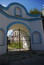 Ворота Миколаївського монастиря в Дубно