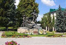Дубенський пам'ятник Тарасу Шевченку