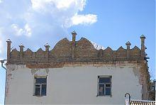 Завершение дубенской башни