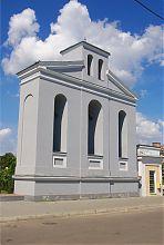 Колокольня дубенского костела святого Яна  Непомуцкого