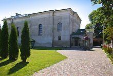 Восточный неф дубенского костела Яна Непомуцкого
